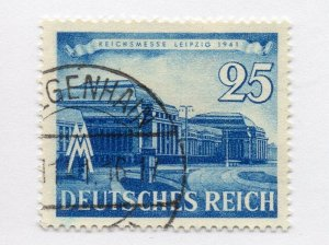 Germany 1943 Early Issue Fine Used 25pf. NW-100727