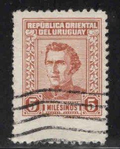 Uruguay Scott 505 Used Artigas stamp