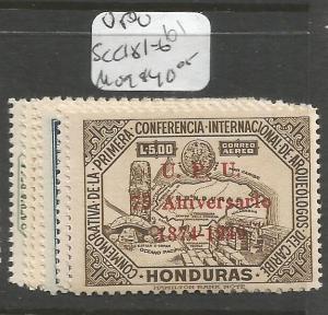 Honduras UPU SC C181-6 MOG (3crz)