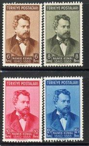 Turkey # 842-5, Mint Never Hinge. CV $ 17.25