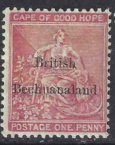 Bechuanaland 1885-1887 SC 6 MNH SCV $55.00