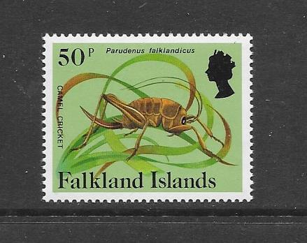 INSECTS - FALKLAND ISLANDS-#399 CAMEL CRICKET   MNH