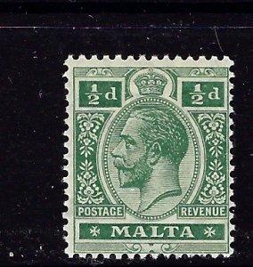 Malta 50 MNH 1914 issue