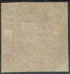 CAPE OF GOOD HOPE 1863 TRIANGLE 1D PAIR DLR PRINTING NO GUM