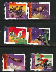 CANADA Scott 1517-22 MNH** Commonwealth Games These stamp...