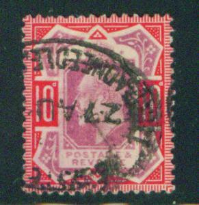 Great Britain Scott 137a  KEVII 1902 stamp CV $85.00
