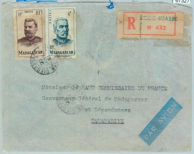 67327 -  FRENCH COLONIES: MADAGASCAR - Postal History - COVER from DIEGO SUAREZ