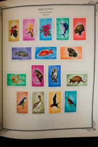 Grenada 1966 to 1989 Stamp Collection