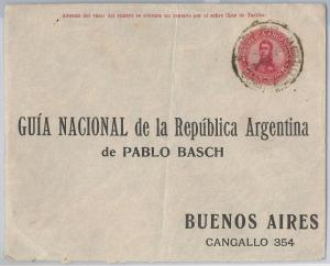43356  - ARGENTINA - POSTAL HISTORY:  STATIONERY COVER 1911