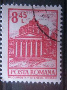 ROMANIA, 1972, used 8.45l, Definitive, Scott 2363