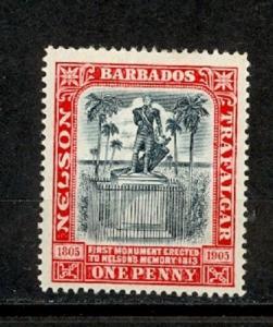 Barbados Scott 104 Mint hinged VF