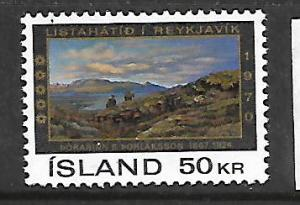 ICELAND 424 MNH THE REST 1970