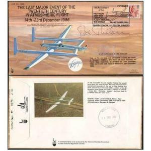 COF53 Last Major Event of 20th Cent Signed by Dick Rutan Only 120 Produced (E)