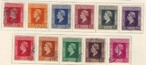 Netherlands Sc #262-276 Used A Complete Set On a Scott Page F-VF