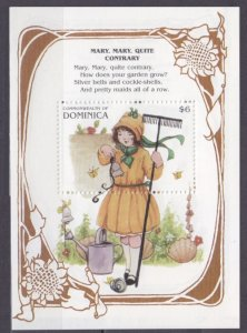 1997 Dominica 2357/B338 Mary Mary Quite Contrary 6,00 €
