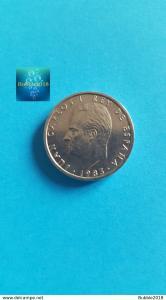 Spain 1983 100 Pesetas - Juan Carlos I value as CIEN (Grade Mint)