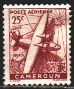 Cameroon. 1941. 161 from the series. Airplane. MLH.