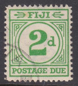 FIJI POSTAGE DUE 1940 2d SG D12 fine used - scarce used - cat £70..........87648