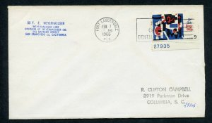 USS FE WEYERHAEUSER 2/7/1966 FROM FFL, FL TO COLUMBIA, SC. AS SHOWN (13)