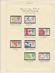 mexico definitive 1979-81 mexican exports stamps page ref 17229