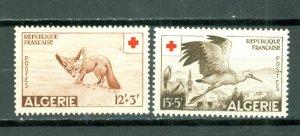 ALGERIA RED CROSS #B88-89...SET...MINT...$18.00