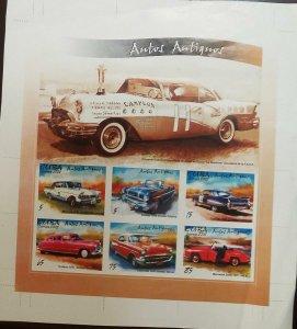 O) 2002 CUBA - CARIBBEAN, IMPERFORATE, OLD CAR - AUTOMOBILES - PONTIAC