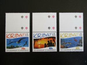 Kiribati #631-33 Mint Never Hinged (M7N4) - Stamp Lives Matter!