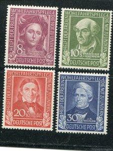 Germany #B310-13  Mint VF NH