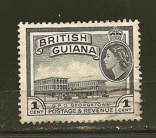 British Guiana 253 Post Office Used