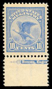momen: US Stamps #F1 Mint NH OG PSE Graded XF-90J