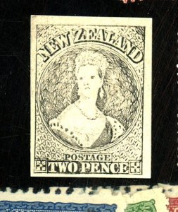 NEW ZEALAND #2 PROOF FVF