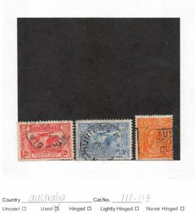 Lot of 18 Australia Assorted Used Stamps #130705