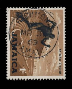 JAMAICA - 1969  RICHMOND / JAMAICA  SINGLE CIRCLE DATE STAMP ON SG 226