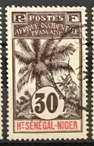 Upper Senegal & Niger #9 Used CDS CV$5.50 Oil Palms