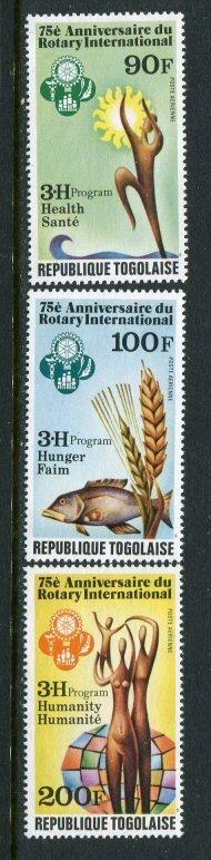 Togo #C406-8 MNH