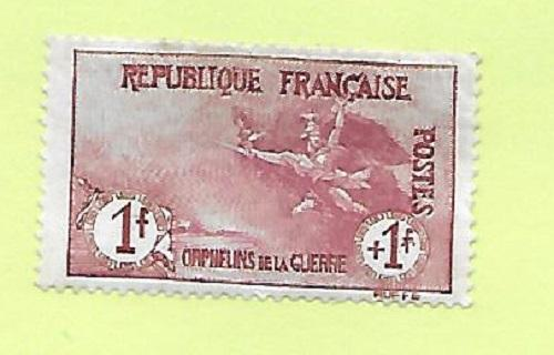 France B9  1917 War Orphans Issue VF MNH Scv $1200