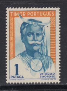 Timor    #252    mnh    cat $17.50