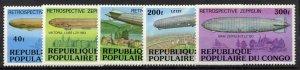 Congo PR 408-12 MNH Zeppelin, Architecture