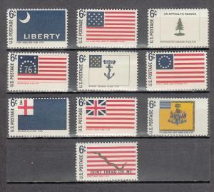 UNITED STATES 1345-1354 MNH 2019 SCOTT SPECIALIZED CATALOGUE VALUE $3.25