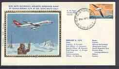 Australian Antarctic Territory 1978 Boeing 747 silk cover...