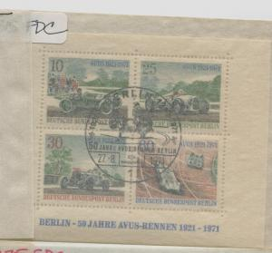 GERMANY BERLIN  9N315  USED  FIRST DAY CANCEL