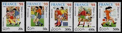 Laos 1268-72 MNH Sports, World Cup Soccer, Football
