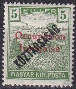 Hungary #1N28 F-VF Unused  (K2223)