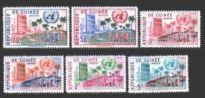 Guinea. 1959. 31-36. UN policy. MNH.