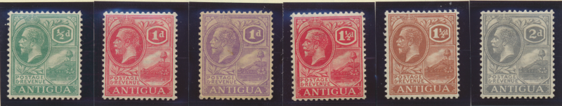 Antigua Stamp Scott #42//50, Mint Hinged, Short SetMissing #45 - Free U.S. Sh...