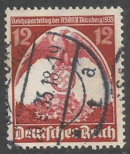 GERMANY 466 VFU I848-3