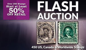 Flash Stamp Auction #72