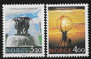 12489 Norway 995 - 996 mnh 2017 SCV $5.25