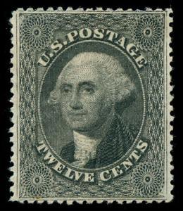 momen: US Stamps #36 Unused XF-SUP
