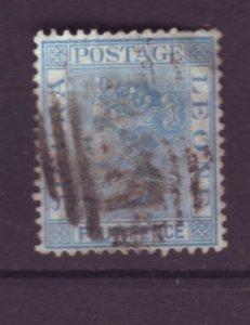 J21933 Jlstamps 1883-93 sierra leone used #29 queen wmk 2 short perf top